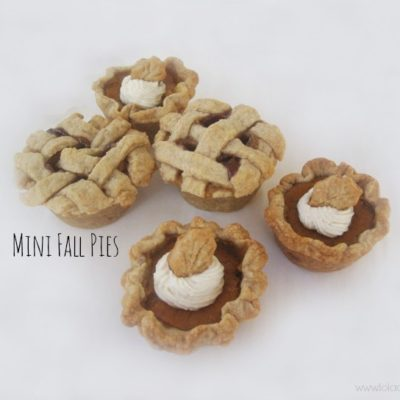 Mini Fall Pies