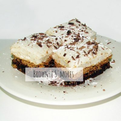 Brownie S'more Bar Recipe