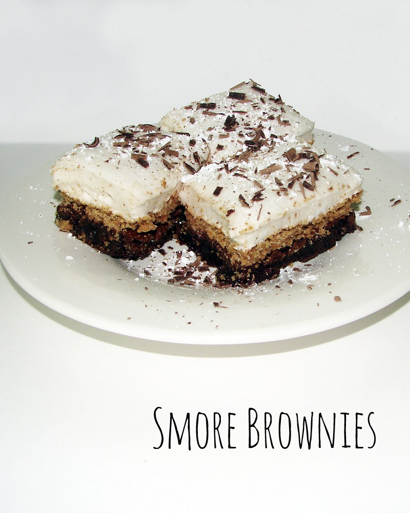 A delicious s'more recipe in a ready to eat not somessy form.