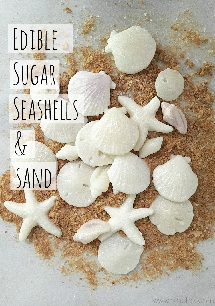 An edible candy seashell that looks realisitc and tastes great.