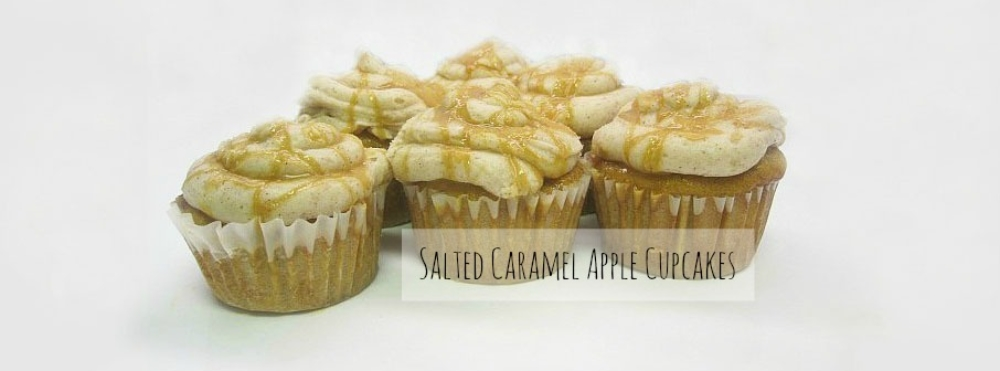 salted caramel apple cupcake recipe