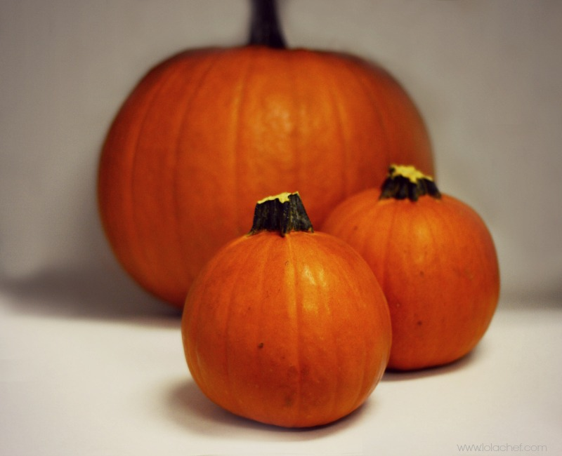 An easyway to roast a pumpkin to use in a recipe.
