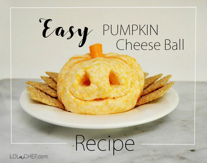 Easy recipe for a delicious shaped cheese ball.