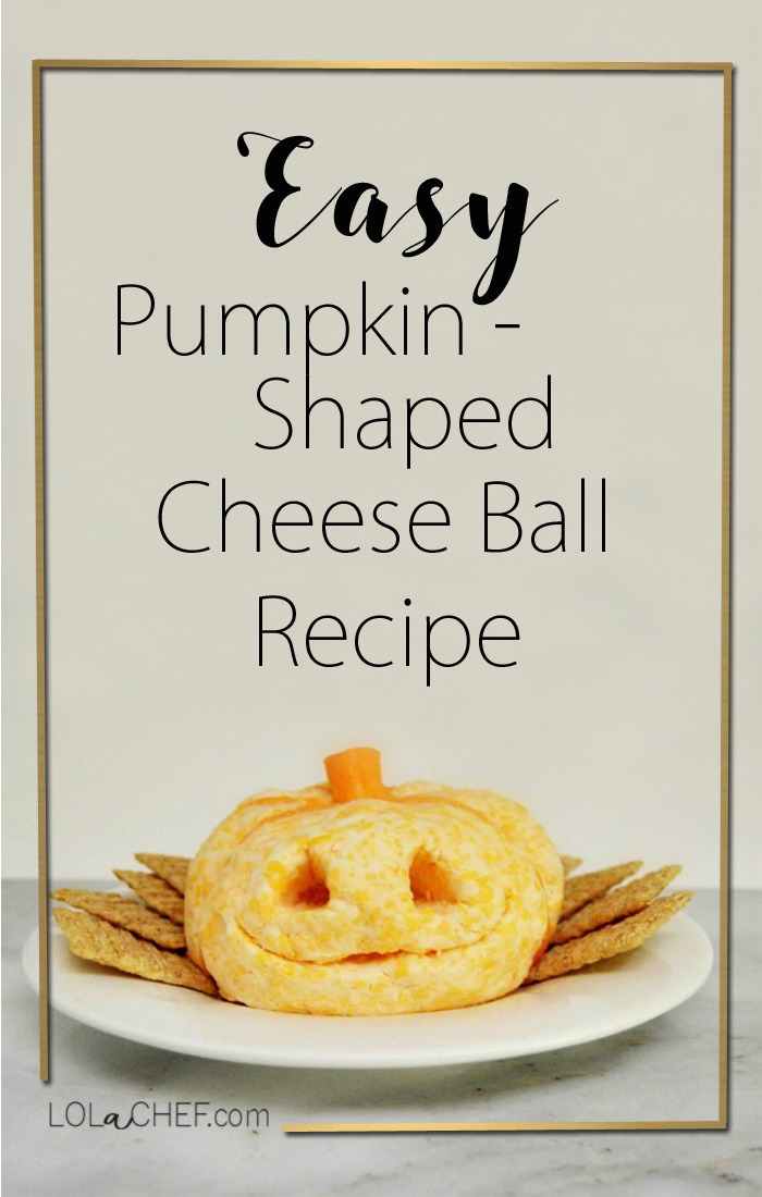 Easy recipe for a delicious shaped cheese ball perfect for holiday entertaining.