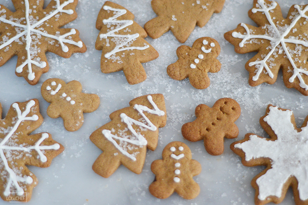 Simple and easy recipe for gingerbread cookies perfect for holiday baking.